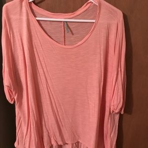 Tops - Pink and orange shirt